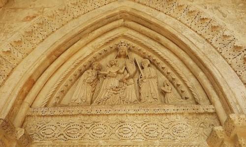 Zdjęcie WłOCHY / Półwysep Gargano / Monte Sant Angelo / Santuario di San Michele - detal