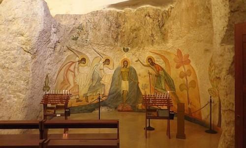 Zdjęcie WłOCHY / Półwysep Gargano / Monte Sant Angelo / Santuario di San Michele - kaplica