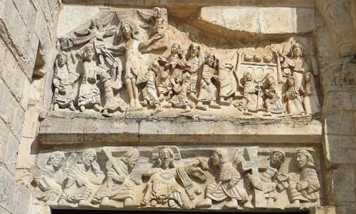 Zdjęcie WłOCHY / Półwysep Gargano / Monte Sant Angelo / Chiesa di Santa Maria Maggiore - detal
