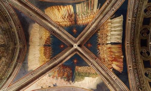 Zdjęcie WłOCHY / Salento / Galatina / bazylika św. Katarzyny Aleksandryjskiej - sklepienie bazyliki