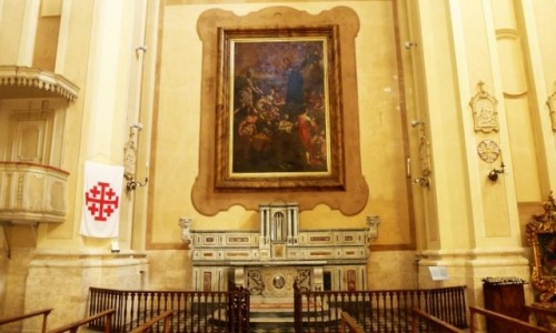 Zdjecie WłOCHY / Apulia / Bari / kościół jezuitów