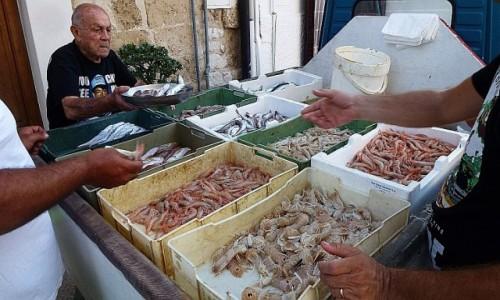 Zdjecie WłOCHY / Apulia / Bari / uliczni sprzedawcy