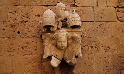 Zdjecie WłOCHY / Apulia / Bari / Zamek Szwabski (Castello Svevo) - detal