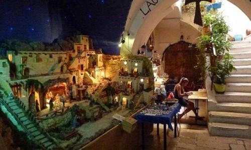 Zdjęcie WłOCHY / Apulia / Bari / szopka - stała ekspozycja