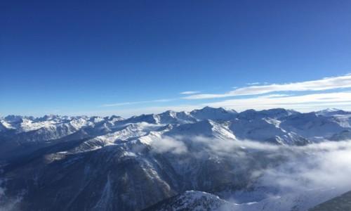 Zdjecie WłOCHY / Val di sole / Pejo  / W chmurach