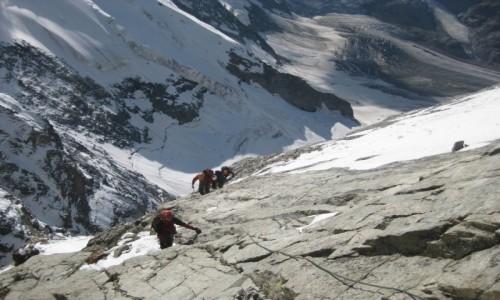 Zdjecie WłOCHY / Valle d'Aosta / Monte Cervino / Na grani Matterhorn