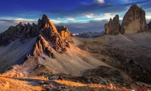 WłOCHY / Dolomity / Tre Cime di Lavaredo / Tre Cime..