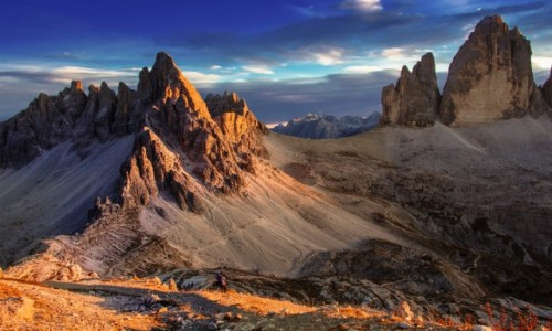 Zdjecie WłOCHY / Dolomity / Tre Cime di Lavaredo / Tre Cime..