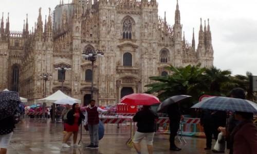 WłOCHY / Lombardia / Mediolan / Catedra Duomo