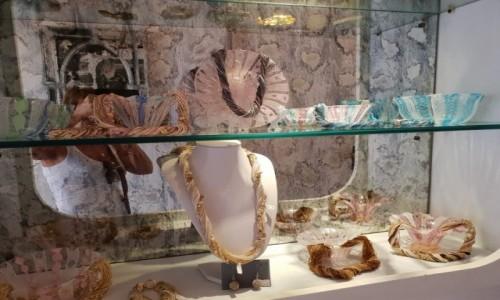 Zdjecie WłOCHY / veneto / Venezia Murano / Wystawa sklepowa z bizuteria