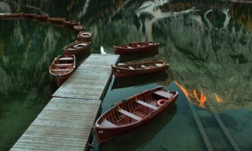 WłOCHY / Dolomity / braies / Jezioro Braies