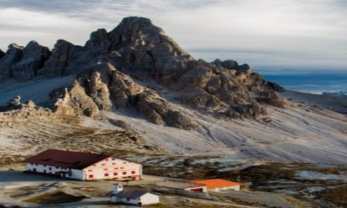 Zdjecie WłOCHY / Dolomity / braies / Tre Cime di Lavaredo