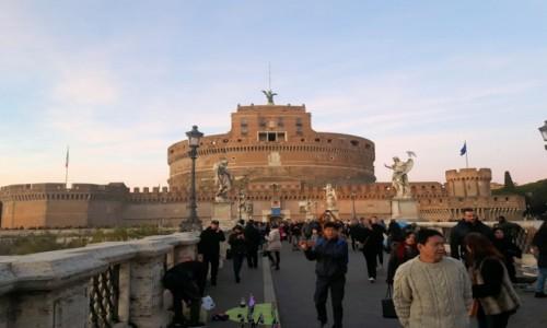Zdjecie WłOCHY / Rzym / Castel Sant'Angelo / Castel Sant'Angelo