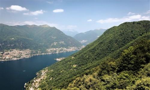 WłOCHY / Lombardia / Brunate  / Como
