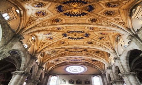 WłOCHY / Como / Katedra pw. Wniebowzięcia Najświętszej Maryi Panny / Sklepienie
