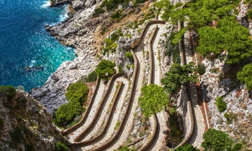 Zdjęcie WłOCHY / Capri / - / via krupp