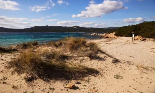Zdjecie WłOCHY / Sardynia / Costa Smeralda / Spiaggia La Celvia