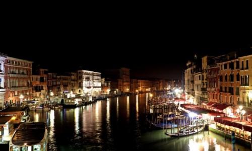 Zdjecie WłOCHY / Wenecja / Wenecja / Wenecja nocą