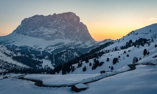 Zdjecie WłOCHY / Tyrol Północny / Passo Gardena / nostalgia...