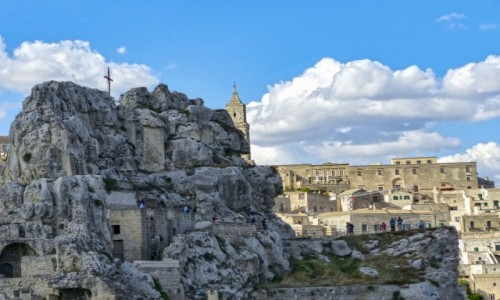 Zdjęcie WłOCHY / Basilicata / Matera / Kościół Santa Maria de Idris