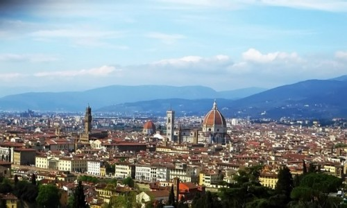 Zdjęcie WłOCHY / Toskania / Florencja / panorama Florencji