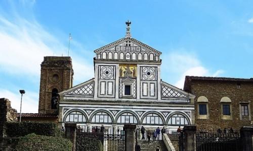 Zdjęcie WłOCHY / Toskania / Florencja / San Miniato al Monte
