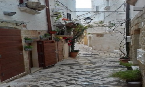 Zdjecie WłOCHY / Apulia / stare miasto / Polignano a Mare
