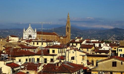 Zdjęcie WłOCHY / Toskania / Florencja / Palazzo Vecchio - widok z tarasu Saturna