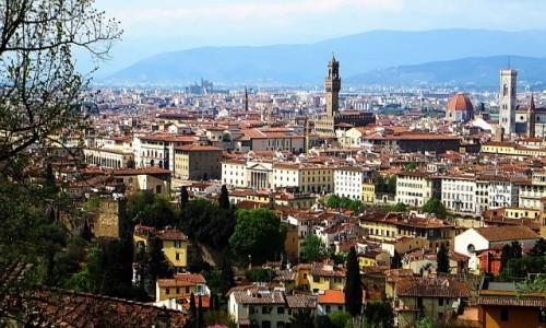 Zdjęcie WłOCHY / Toskania / Florencja / panorama Florencji z placu Michelangelo