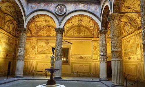 Zdjęcie WłOCHY / Toskania / Florencja / Palazzo Vecchio - przedsionek