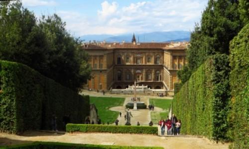 Zdjęcie WłOCHY / Toskania / Florencja / Ogrody Boboli