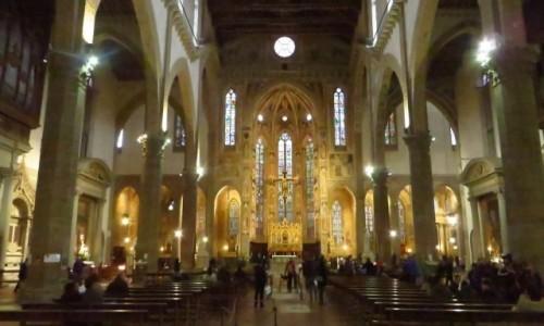 Zdjęcie WłOCHY / Toskania / Florencja / Bazylika Santa Croce