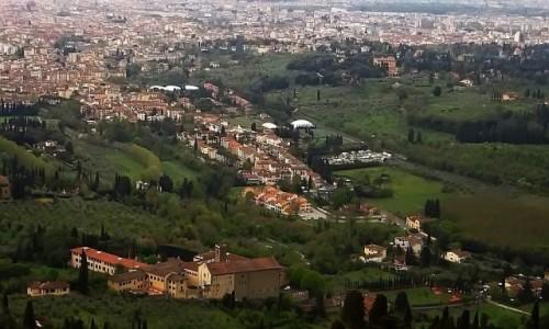 Zdjęcie WłOCHY / Toskania / Fiesole / panorama Florencji z Fiesole