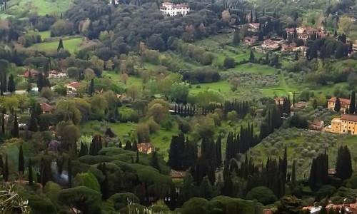 Zdjęcie WłOCHY / Toskania / Fiesole / krajobrazy toskańskie