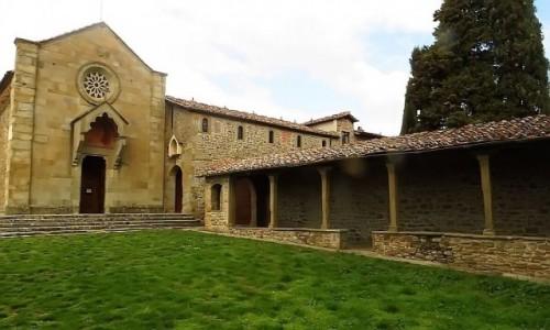 Zdjecie WłOCHY / Toskania / Fiesole / klasztor św. Franciszka