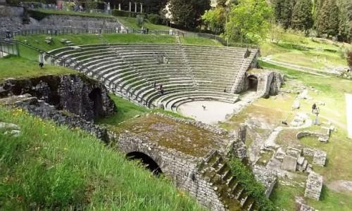 Zdjęcie WłOCHY / Toskania / Fiesole / teatr rzymski