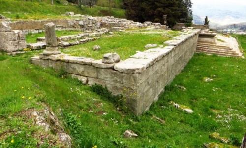 Zdjęcie WłOCHY / Toskania / Fiesole / etruska świątynia