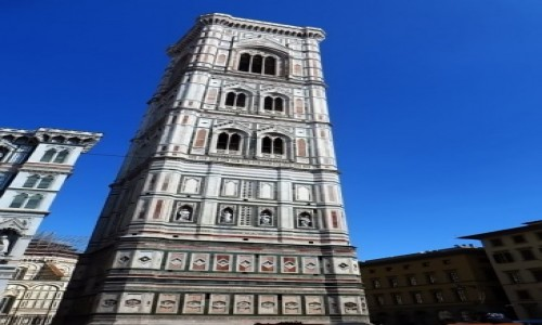 Zdjęcie WłOCHY / Toskania / Florencja / dzwonnica katedralna
