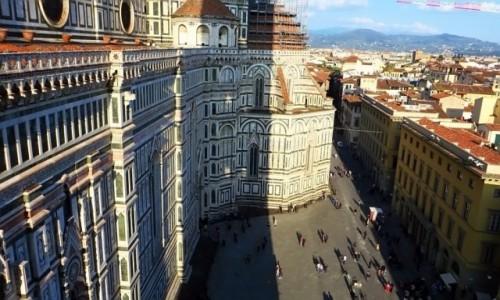 Zdjęcie WłOCHY / Toskania / Florencja / widok na katedrę z dzwonnicy