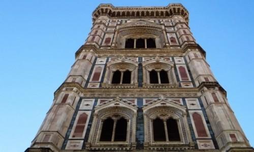 Zdjęcie WłOCHY / Toskania / Florencja / kampanila