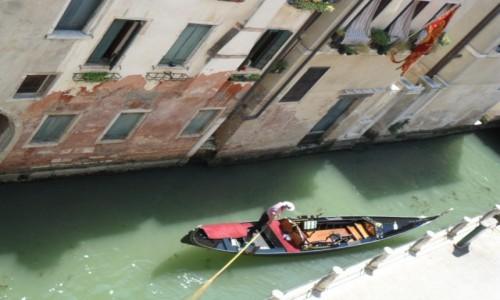 Zdjecie WłOCHY / Wenecja / Wenecja / Gondola