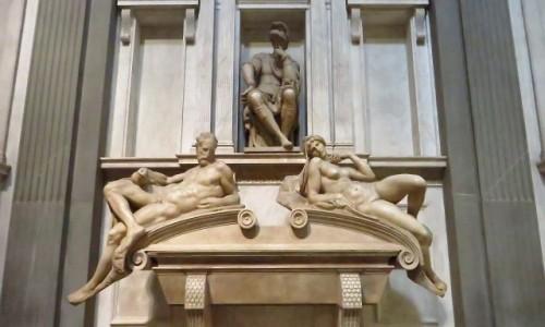 Zdjecie WłOCHY / Toskania / Florencja / grobowiec Lorenzo, ksiecia Urbino