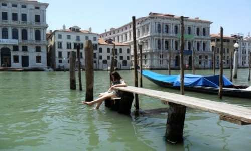 Zdjecie WłOCHY / Wenecja / Grand Canal / Południe w Wenecji