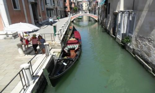 Zdjęcie WłOCHY / Wenecja / Wenecja / Gondolowa przystań
