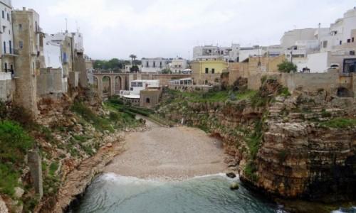 Zdjęcie WłOCHY / Puglia / Polignano a Mare / Przed najazdem