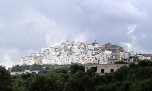 Zdjecie WłOCHY / Puglia / Ostuni / Białe miasto