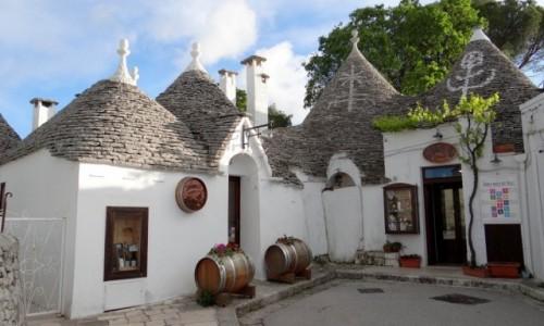 Zdjecie WłOCHY / Puglia / Alberobello / Zaułek I