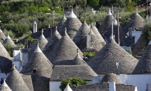 Zdjecie WłOCHY / Puglia / Alberobello / Takie tam stożki...