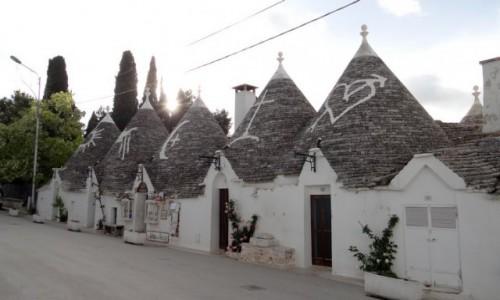 Zdjecie WłOCHY / Puglia / Alberobello / Znaki