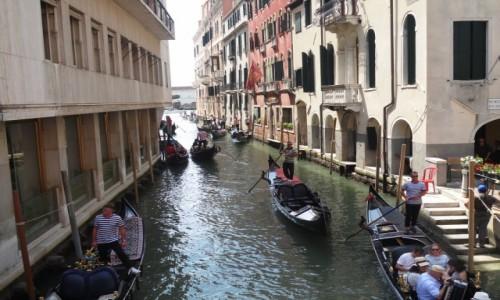 Zdjecie WłOCHY / - / Jesolo -Venezia / Z rowerem na Płd. Europę